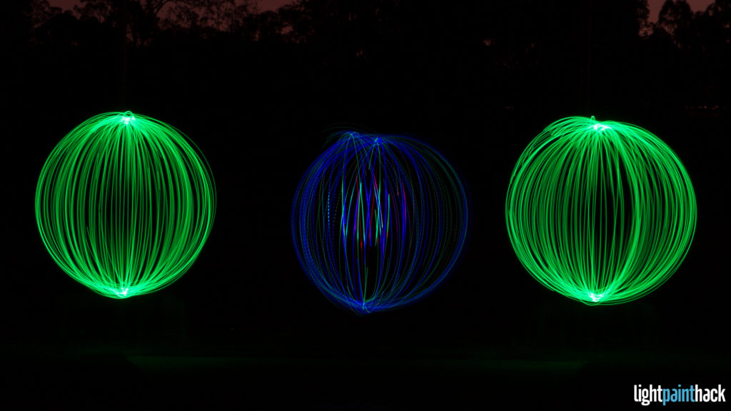 My First Light Painting Orbs