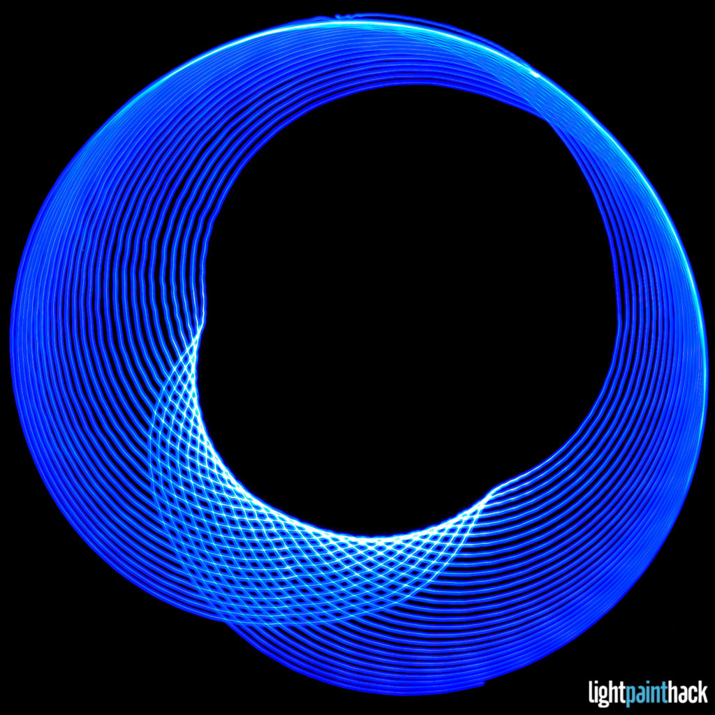 Light Painting Spirograph Test Shot