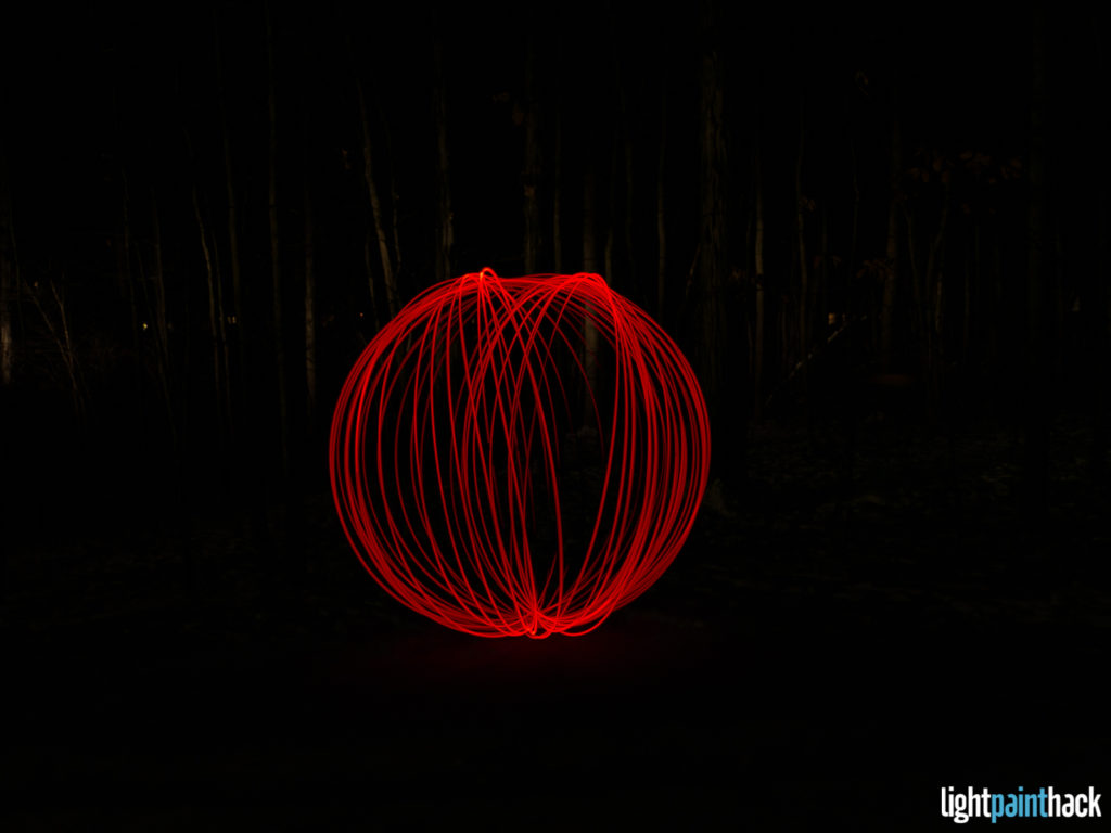 New Year Light Painting - Attempt 3