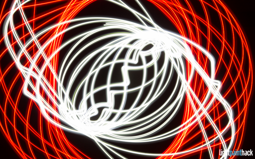 Light Paint Spirography - My First Light Painting